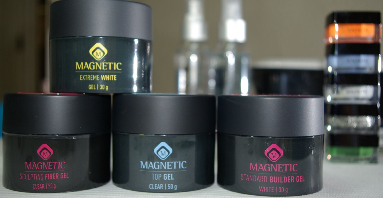 Gel Nail Technology Products - Magnetic Nail Academy