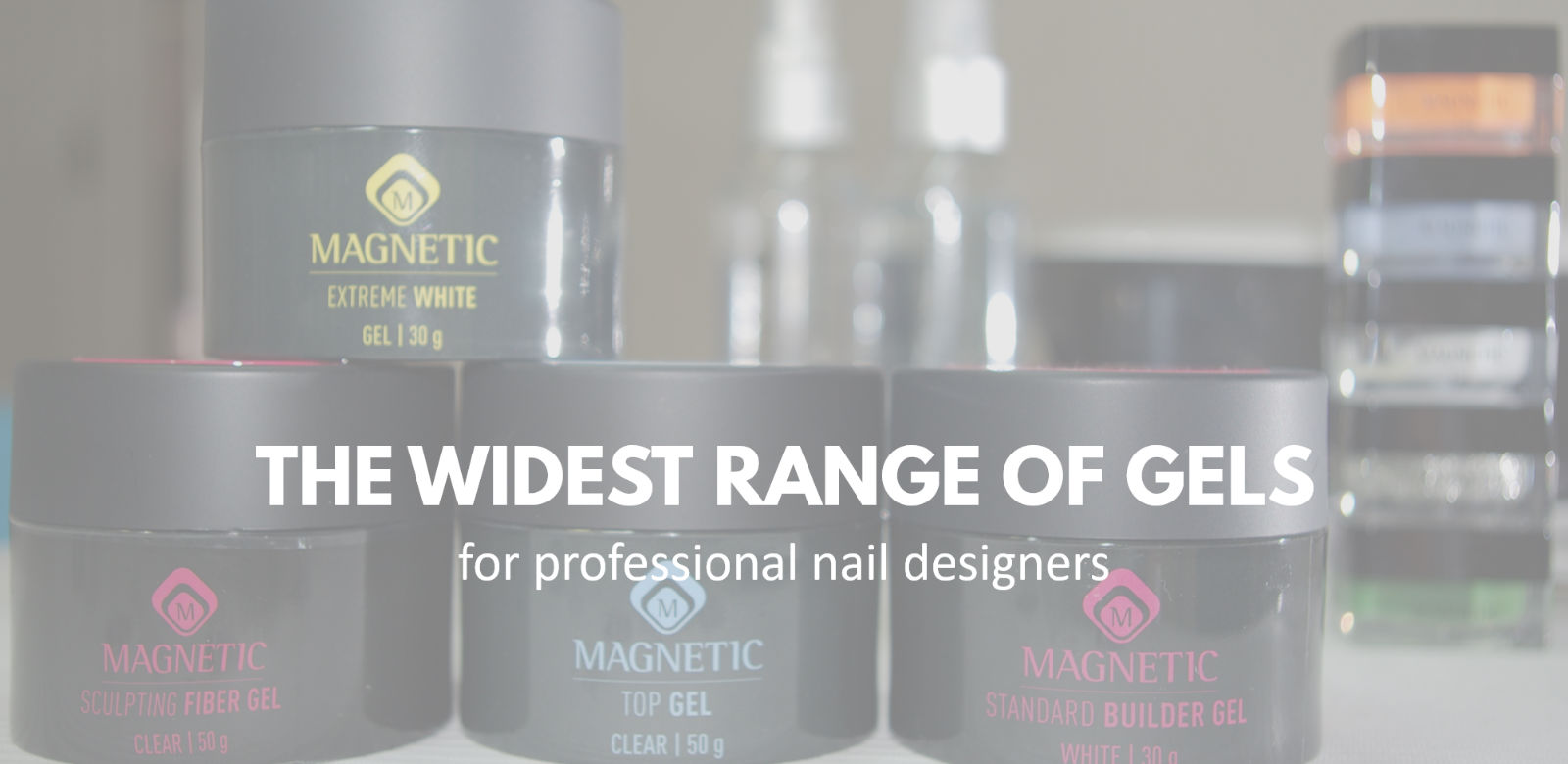 Magnetic Gel Nail Technology Products