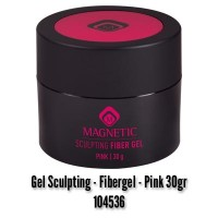 Gel Sculpting - Fibergel - Pink 30g