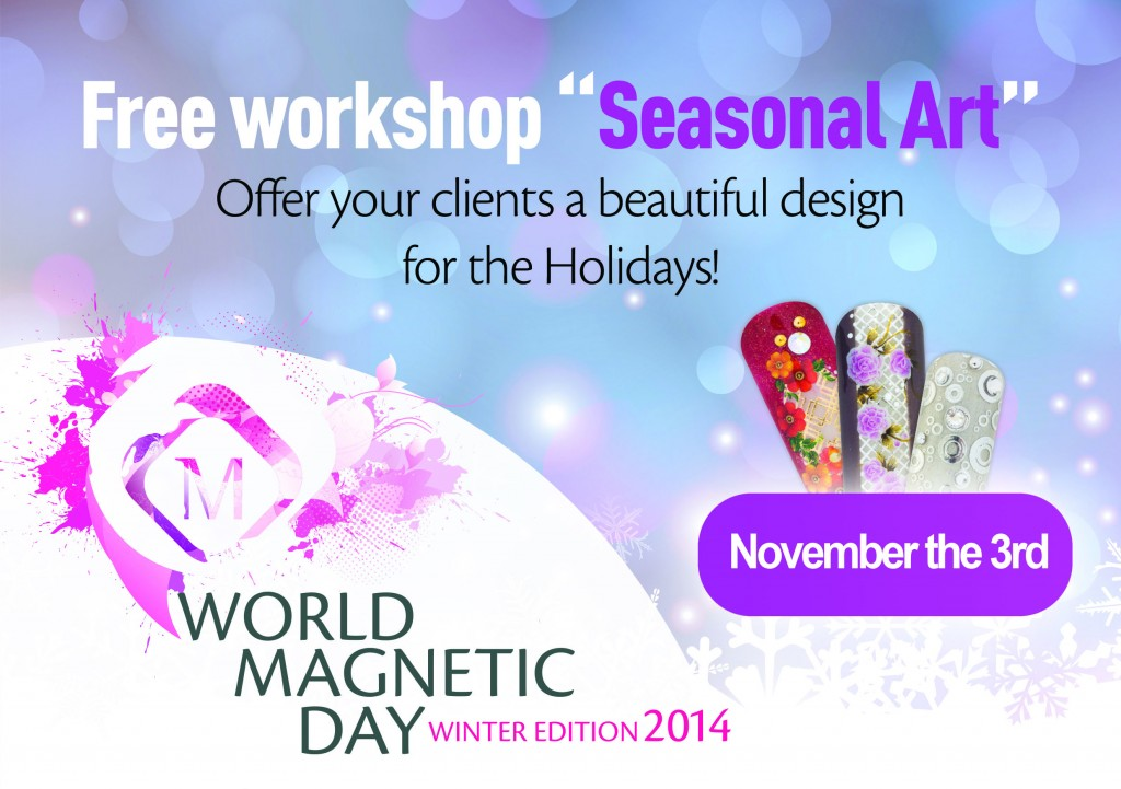 Magnetic World Nail Art Day 2014