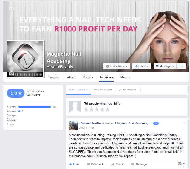 Facebook Marketing for Nail Techs
