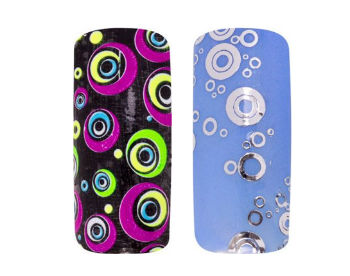 Fashion Sticker Samples from Magnetic Nail Academy-w350