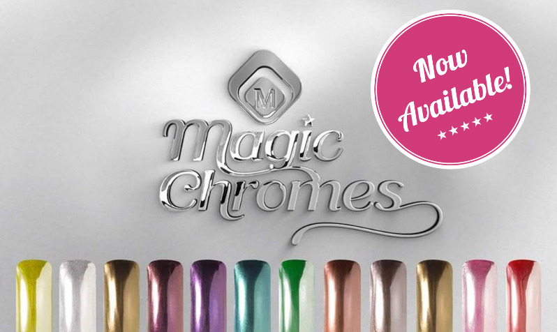 Wow your customers with new Magic Chromes - Magnetic Nail Academy
