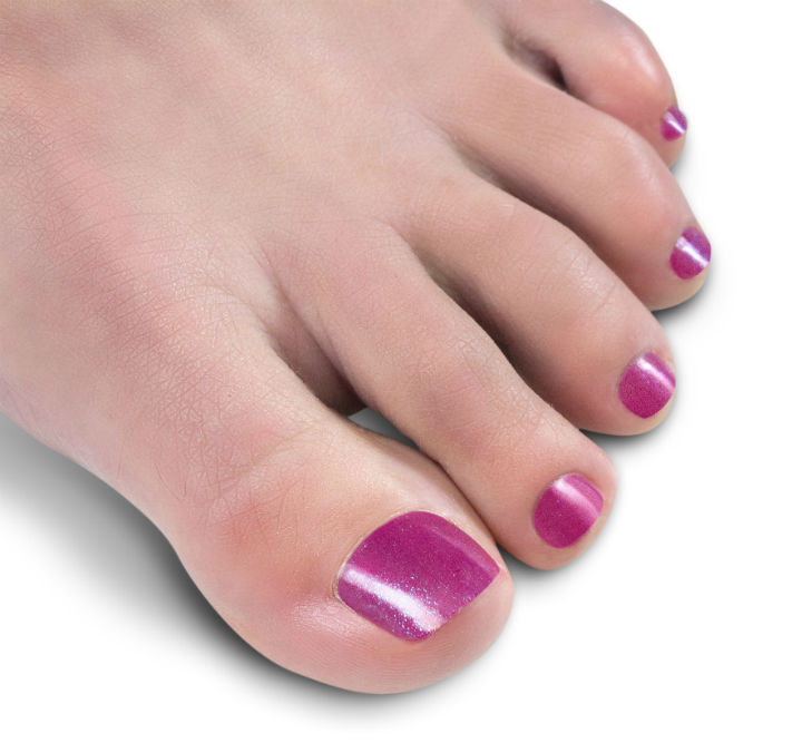 Gel Polish on Toes