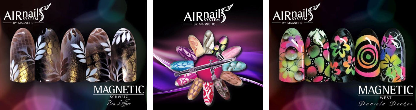 Airnails Airbrushing by Magnetic