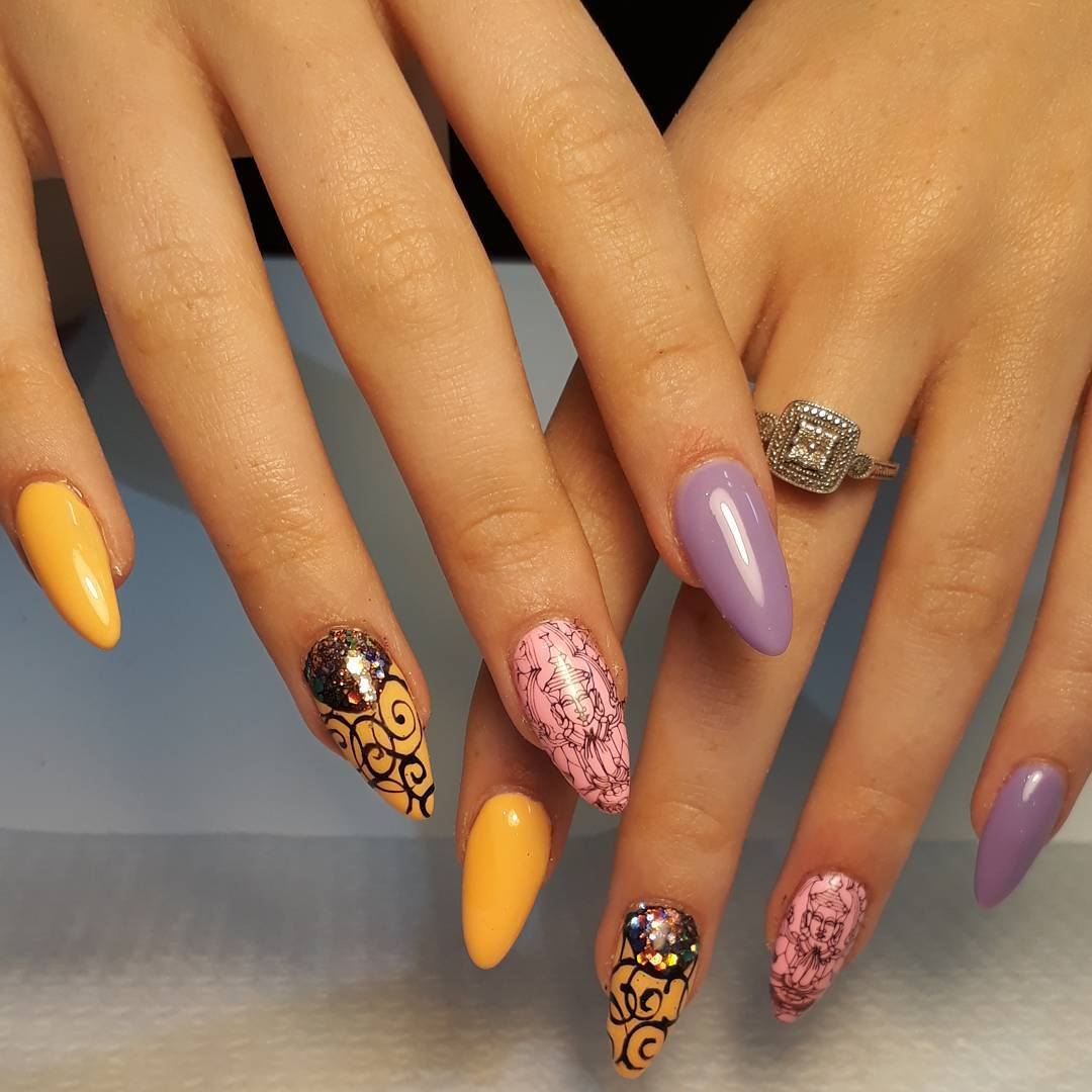 Nail Art from Magnetic Scotland - Magnetic Nail Academy