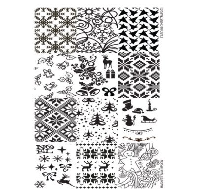 Stamp Plate - Christmas 1pcs 118612