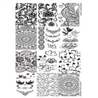 Stamp Plate Wedding 1 pcs 118613