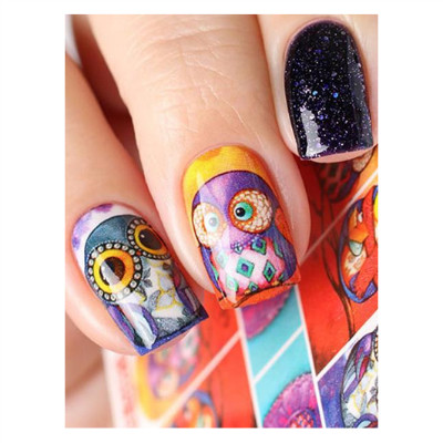 Water Decal Step By Step Inspiration Magnetic Nail Academy