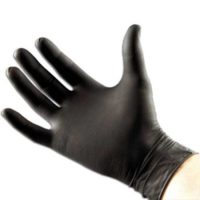 Magnetic Black Nitrile Glove