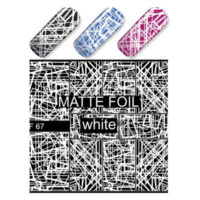 White Geometric Lines MF67W