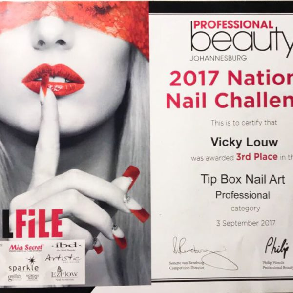 Vicky Louw 3rd Place Tip Box Competition