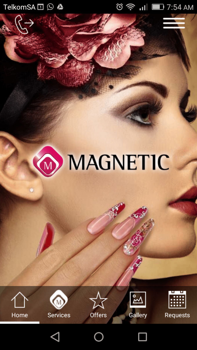 Magnetic Nail Design App