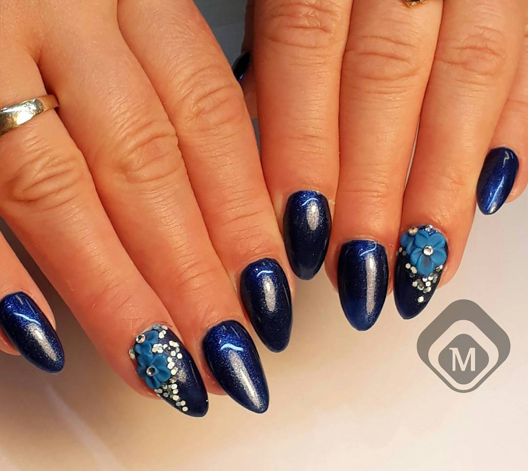 Nail Art From Magnetic Scotland Magnetic Nail Academy
