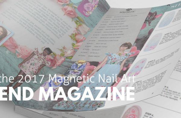 Magnetic Nail Art Trend Magazine 2017