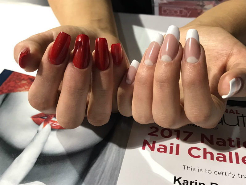 Karin Bouwer Magnetic Nail Academy Acrylic Sculpting
